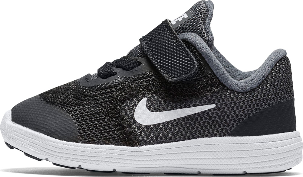 ad3064bcaeb Nike Revolution 3 TDV Toddler Shoes in Charcoal for Unisex-c