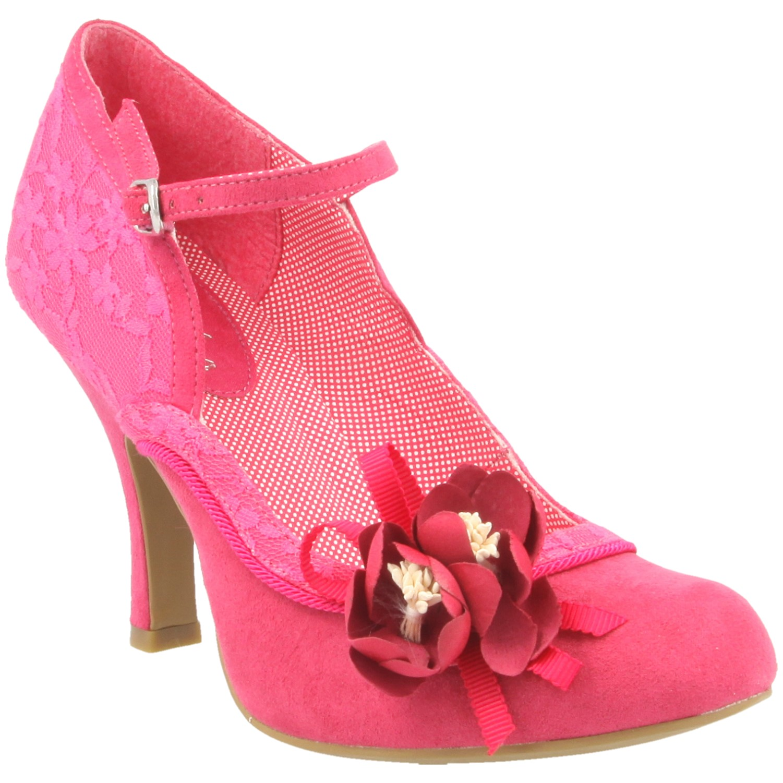Ruby Shoo Silvia Strap Heel In Pink For Women